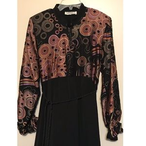 Long sleeve dress/abaya, medium size